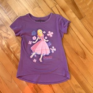 4/$20 SalMiGonDis Purple T-shirt size 6
